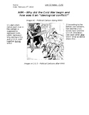 Global History - 10th Grade - Unit 32 - The Cold War - Handout 1