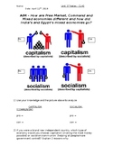 Global History - 10th Grade - Unit 37 - Economic Issues Post-WWII - Handout 1