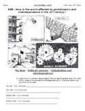 Global History - 10th Grade - Unit 38 - Modern Economic Issues - Handout 4