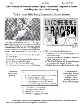 Global History 10th Grade - Unit 40 21st Century Issues - Day 2 Handout