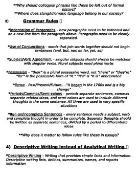 Global History - Essay Writing Strategies & Mistakes to Avoid - REGENTS ALIGNED