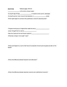 Global History Final Study Guide