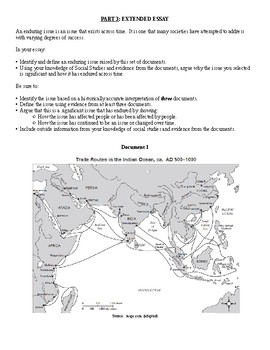 Global History & Geography II Regents - Africa Before 1750 (Gold-Salt Trade)