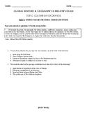 Global History & Geography II Regents - Columbian Exchange