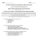 Global History & Geography II Regents - Reformation