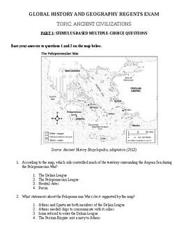 Global History & Geography II Regents - Rome & Greece