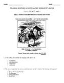 Global History & Geography II Regents - World War 1