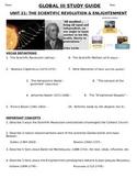 Global - Study Guide - Units 1-10/20 - 10th grade
