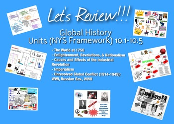 Global History II Topical Review Graphics (Units 10.1-10.5 for NYS Framework)