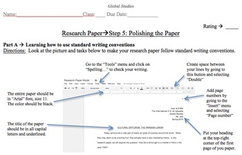 Global History Research Paper - Cultural Diffusion