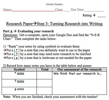Global History Research Paper - Leaders