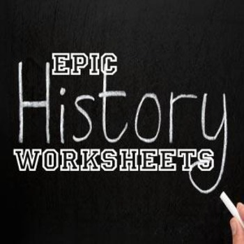 Global/World History Skills - Maps and Timelines worksheet