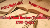 Global History Vocabulary Review: 1750-Today