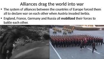 Global History World War One Begins