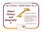 Global History and Geography I (Whole Course Part 2), World History