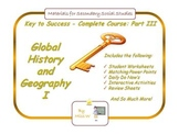 Global History and Geography I (Whole Course Part 3), World History