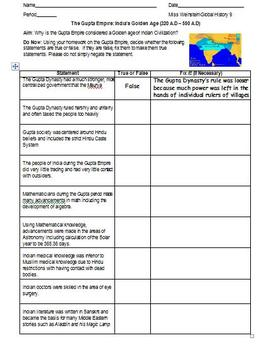 Global History and Geography I (Whole Course Part I), World History