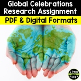 Global Holiday Celebrations Research Assignment | Distance