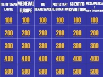 Global I Final Review Jeopardy! *BUNDLE*