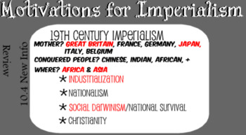 Global II 10.4 19th Century Imperialism Smartnotebook