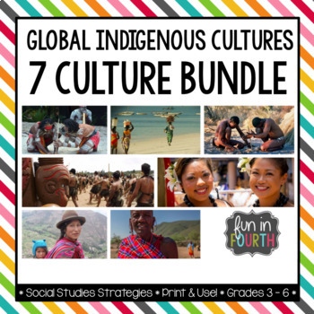 Global Indigenous Cultures Informational Articles: 7 Article Bundle
