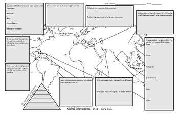 Global Interactions - AP World History Activity (1450-1750) Period 4