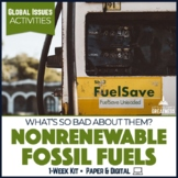Global Issues Activities: Fossil Fuels Problems & Renewable Alternative Energy