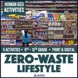 Garbage Footprints Zero-Waste Recycling Activities