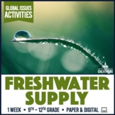 Global Issues Activities: Water Sustainability, Footprint & Finiteness