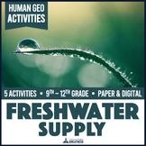 Fresh Water Supply Footprint & Access Activity Kit Print & Digital