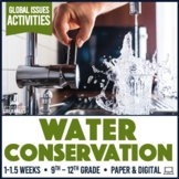 Water Sustainability Conservation and Activism Activity Kit Print & Digital