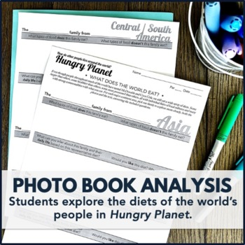 Global Issues Activity: Hungry Planet Children's Book