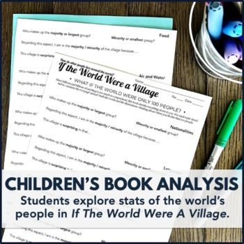 Global Issues Activity: If the World Were a Village Children's Book