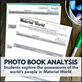 Global Issues Activity: Material World Children's Book