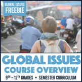Global Issues Course Overview & Calendar