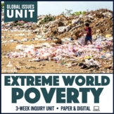 World Poverty Living on One Dollar a Day Unit Print & Digital