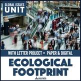 Eco Footprint and Natural Resources PBL Mini Unit Print & Digital