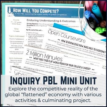 Globalization PBL Mini Unit: Technology & Global Economy
