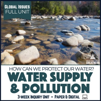 Global Issues PBL Unit: Water Sustainability