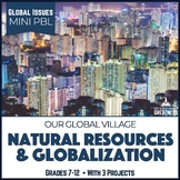 Population Growth Globalization Natural Resources Mini Unit PBL