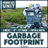Garbage Landfills Recycling Plastic Unit Print & Digital