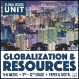 Population Growth Globalization Natural Resources Unit PBL