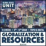 Population Growth Globalization Natural Resources PBL Unit Print & Digital