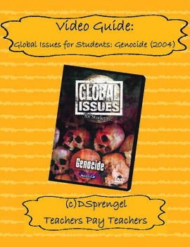 Global Issues for Students: Genocide Video/Movie Guide (2004) with key