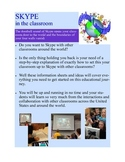 Global Learning with Skype in the Classroom