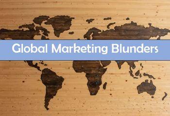 Global Marketing Blunders