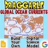 Global Ocean Currents - Digital Draggable Science Model
