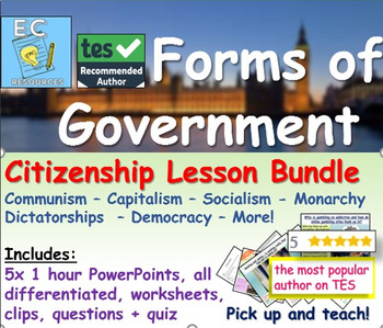 Global Politics: Different Forms of Government Bundle