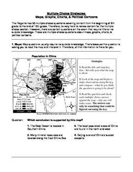 Global History Regents Review Packet / Prep - Multiple Choice Strategies