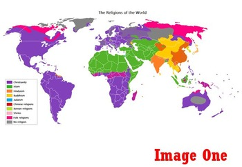 Global Religion in Maps